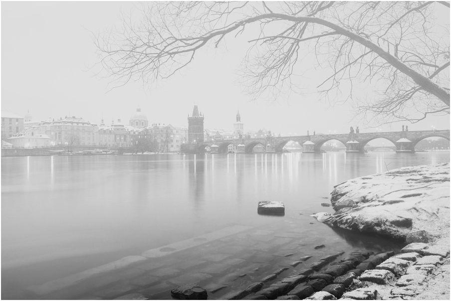 Nabídka fotografických kurzů aneb fotokurz Černobílá romantická Praha