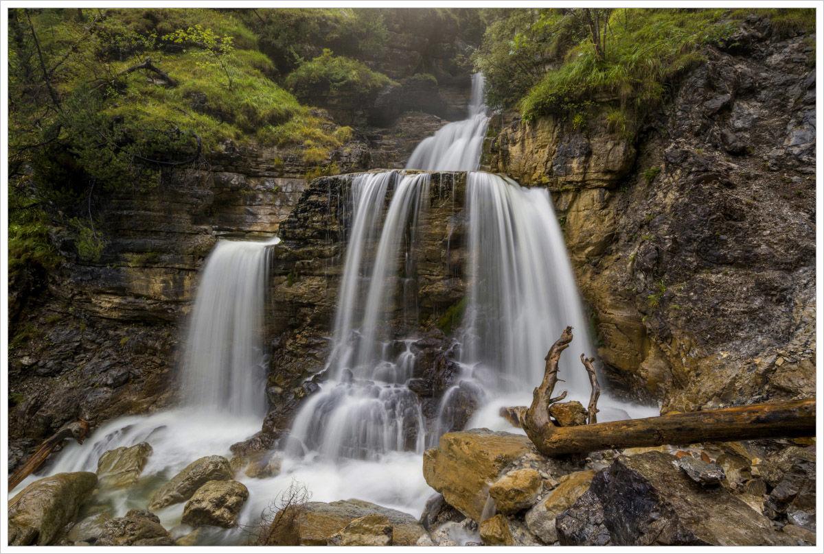 Mohutný bavorský vodopád - fotografický workshop Malebné podzimní Bavorsko