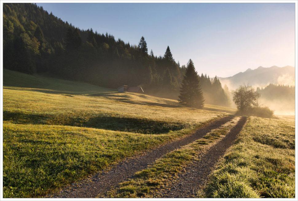 Pohádkové ráno naGeroldu - fotografický workshop Malebné podzimní Bavorsko