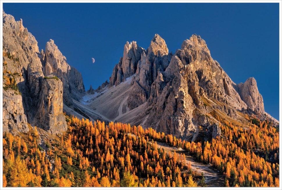Setenské část Dolomit - fotografický workshop Čarovné podzimní Dolomity