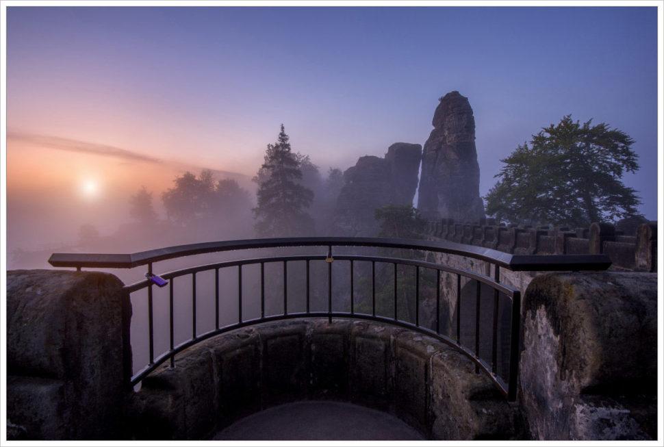 Romantický most Bastei - fotografický workshop Podzimní Českosaské Švýcarsko