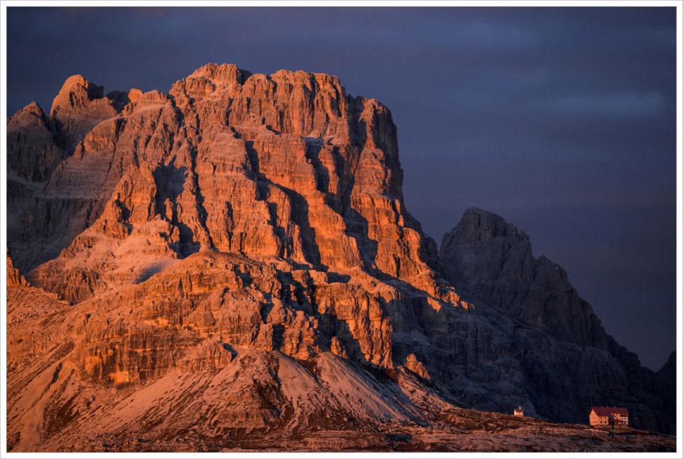 Chata Tre Cime - fotografický workshop Čarovné podzimní Dolomity