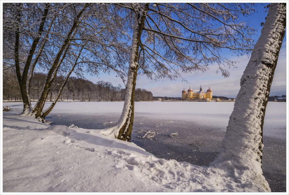 Pohádkově zasněžená krajina - fotografický workshop Drážďany, Moritzburg aMíšeň