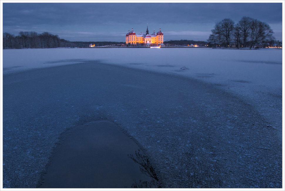 Mrazivá atmosféra zimního Moritzburgu - fotografický workshop Drážďany, Moritzburg aMíšeň