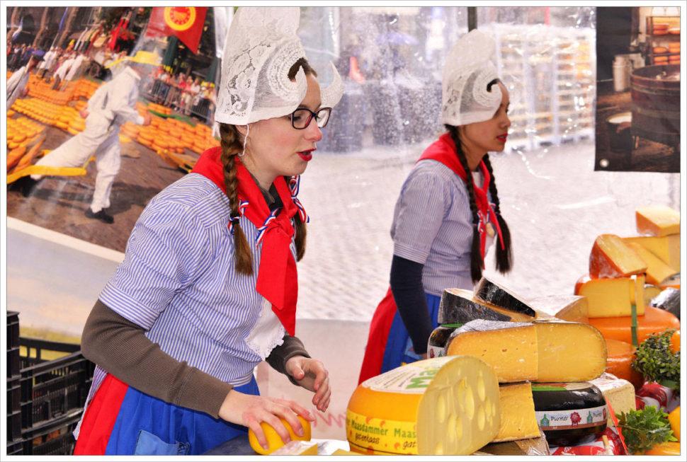 Trh sýrů vAlkmmaru má dlouholetou historii - fotografický workshop Rozkvetlé jarní Holandsko