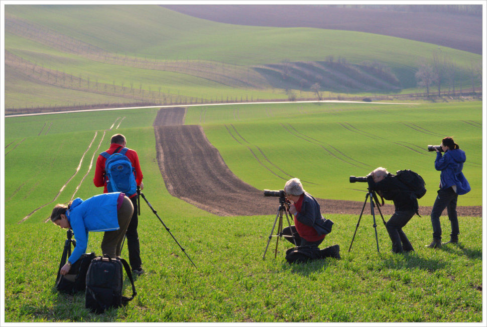 Intenzivní focení je standart naworkshopech Phototours.cz - fotografický workshop Romanticky zvlněná Jižní Morava