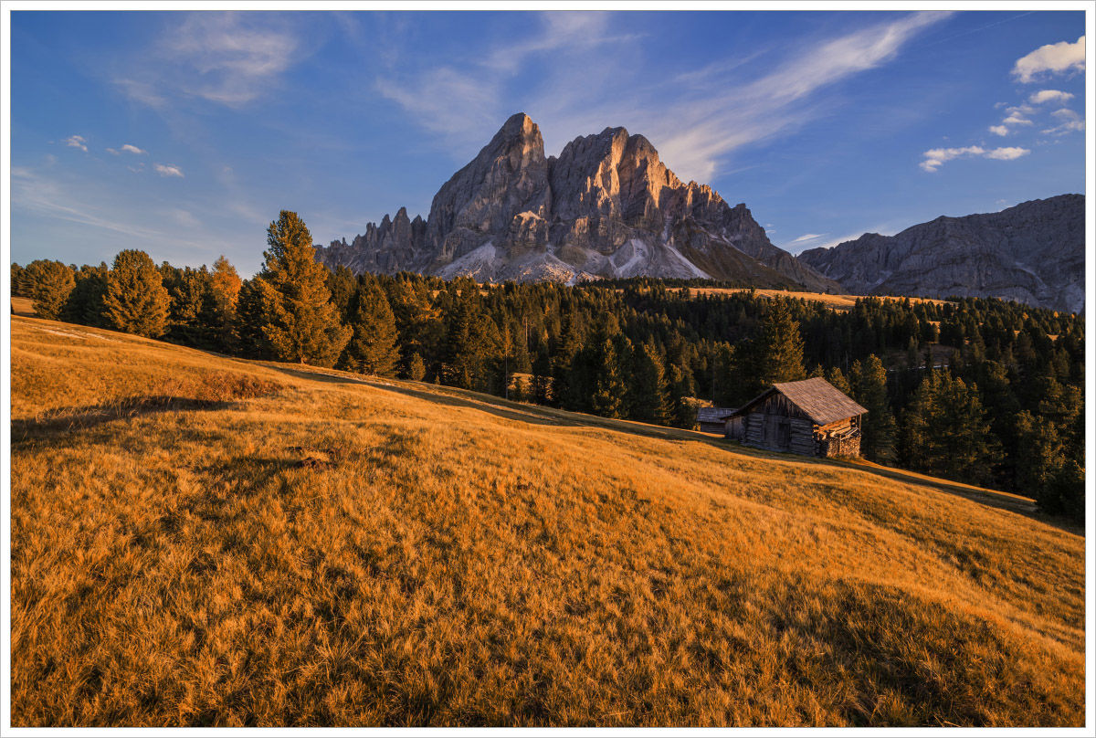 Nedaleko horského průsmyku - fotografický workshop Čarovné podzimní Dolomity