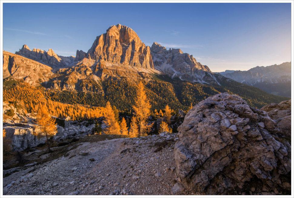 Tofana di Rozes - fotografický workshop Čarovné podzimní Dolomity