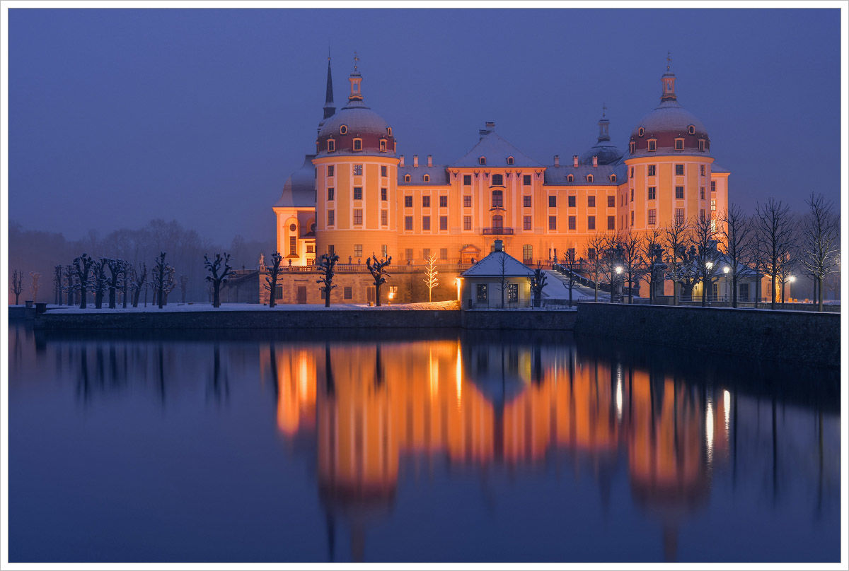 Pohádkové ráno uMoritzburgu - fotografický workshop Drážďany, Moritzburg aMíšeň