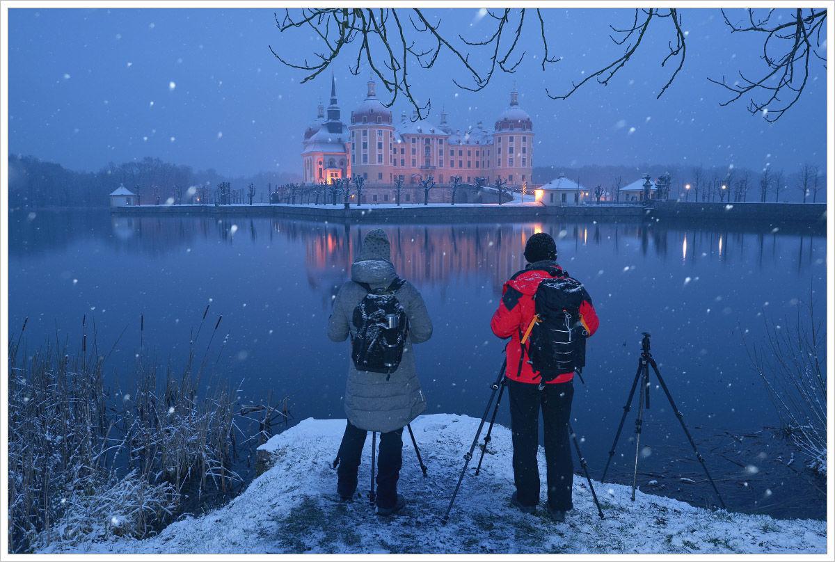 Podmínky účastníkům workshopu přály - fotografický workshop Drážďany, Moritzburg aMíšeň