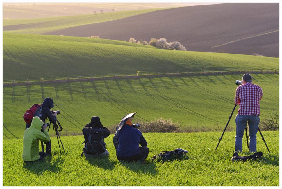 Fotografování krajiny vprotisvětlu - fotografický workshop Romanticky zvlněná Jižní Morava