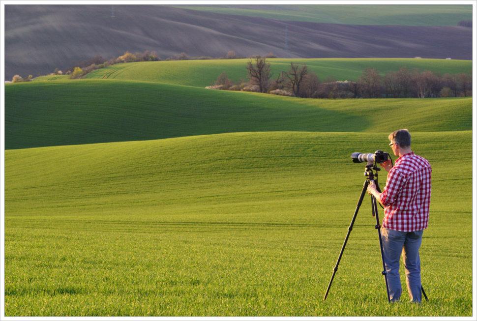 Pohodové focení nafotografických workshopech Phototours.cz je základ - fotografický workshop Romanticky zvlněná Jižní Morava