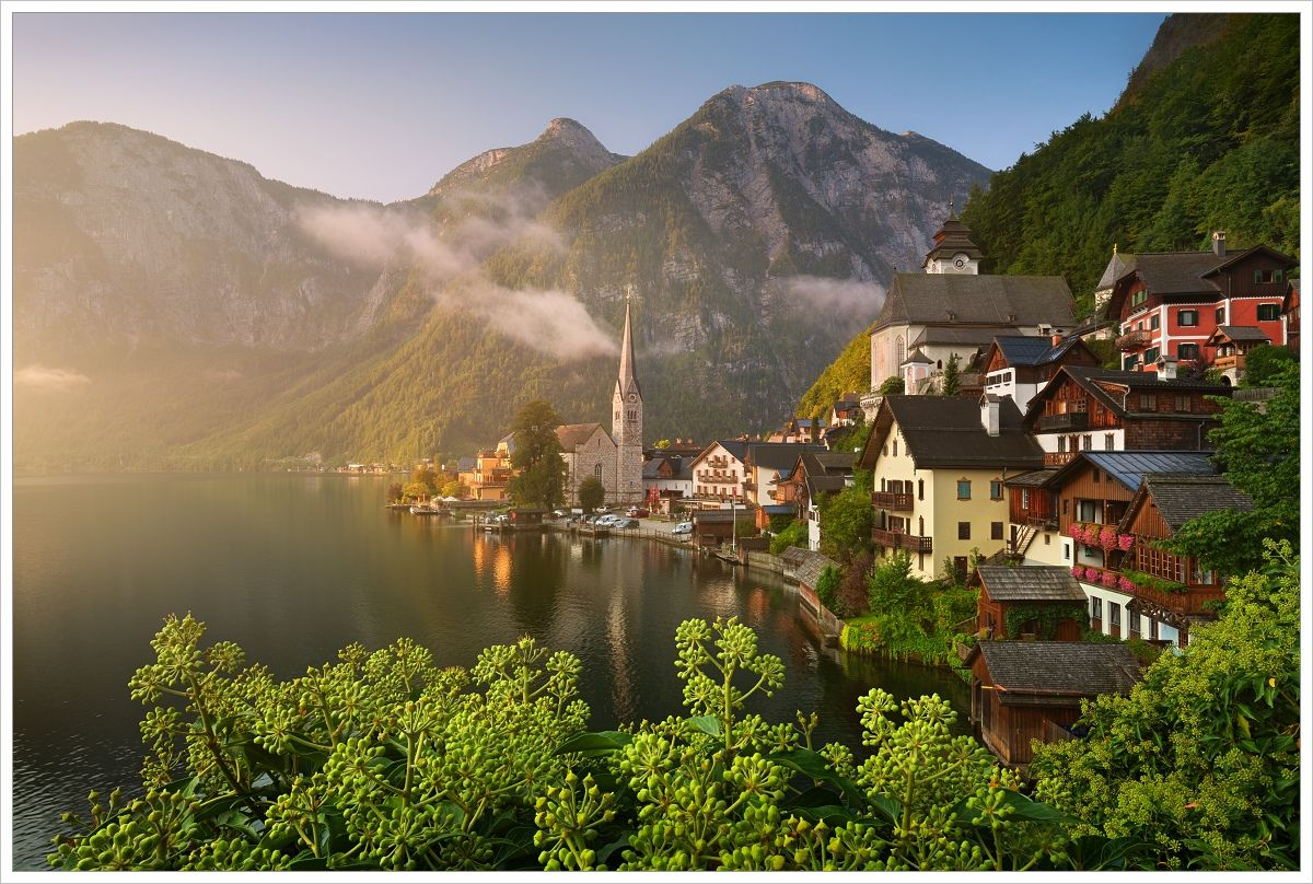 Pohádkový Hallstatt - fotografický workshop Jezera avodopády Rakouska