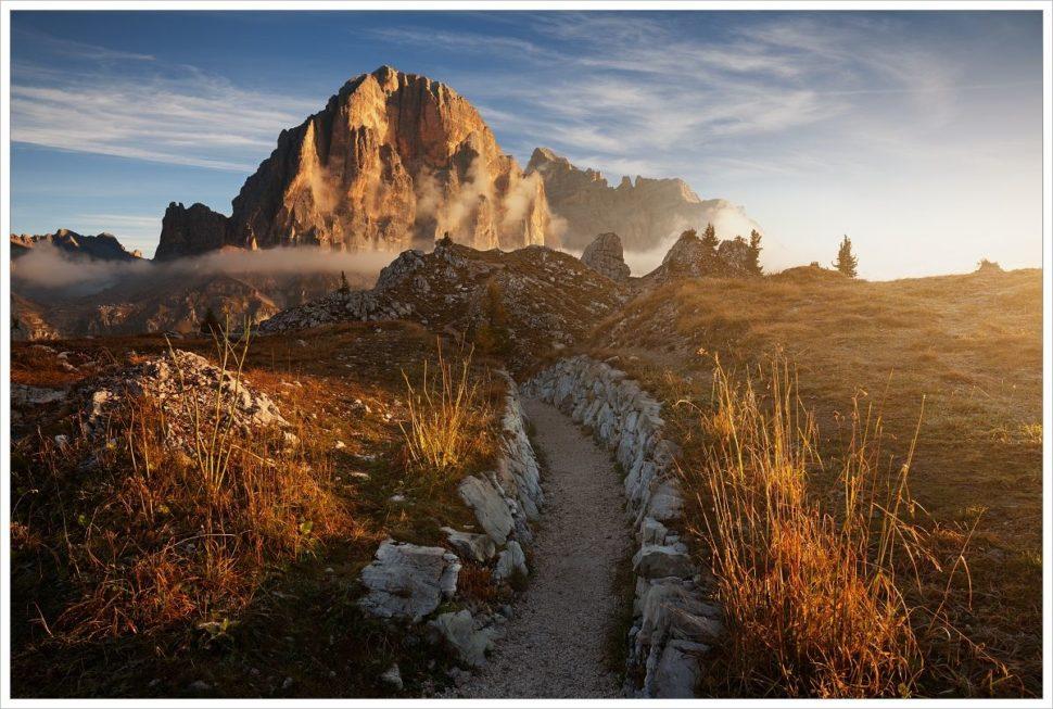 Ranní Tofana di Rozes - fotografický workshop Čarovné podzimní Dolomity