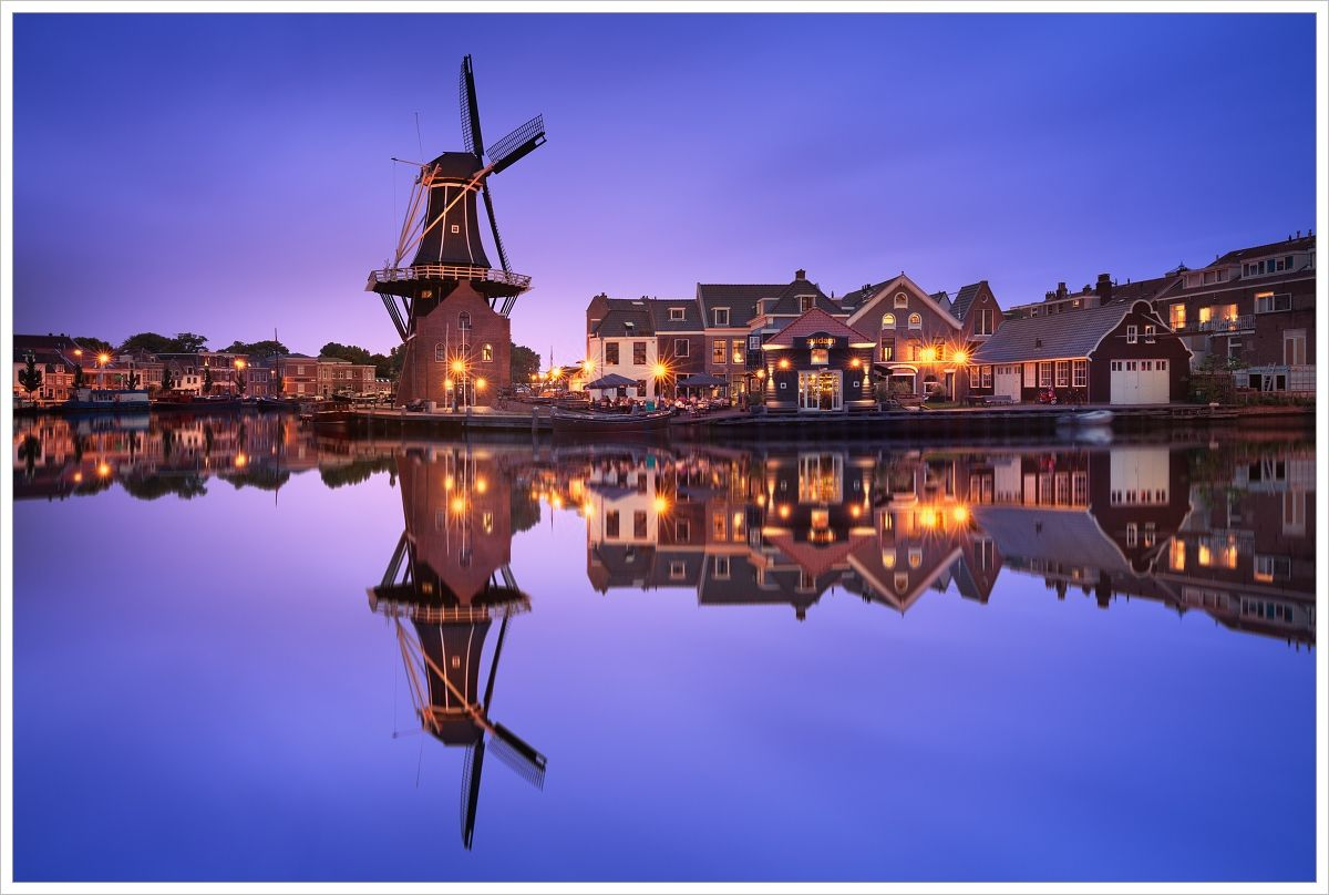 Historické centrum Haarlemu - fotografický workshop Rozkvetlé jarní Holandsko
