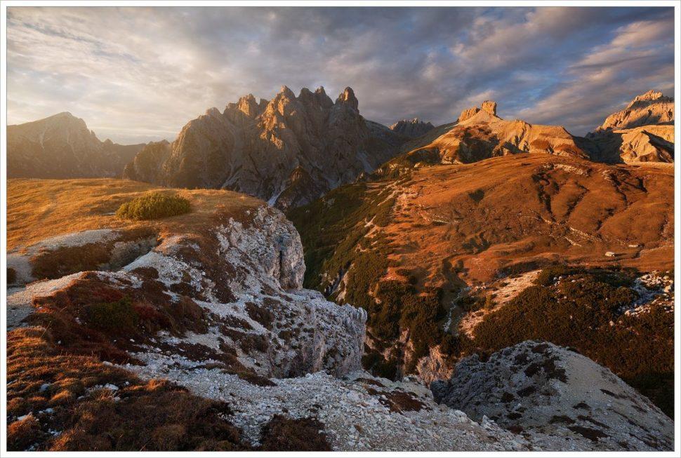 Sextenské Dolomity - fotografický workshop Čarovné podzimní Dolomity