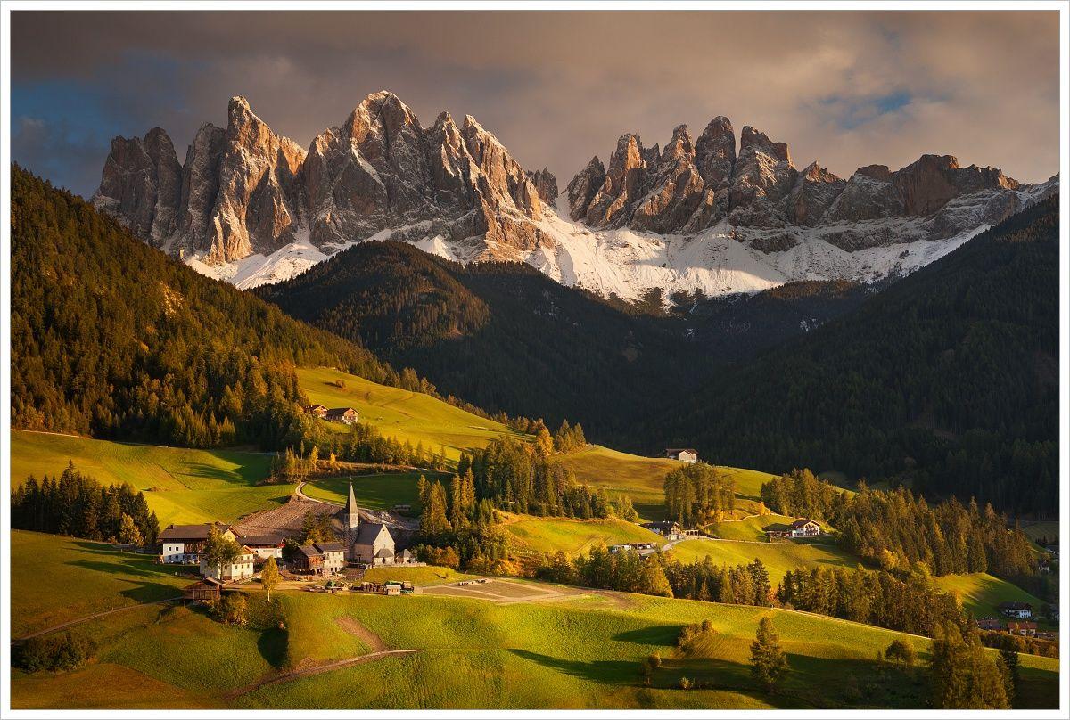 Romantické údolí Val di Funes - fotografický workshop Čarovné podzimní Dolomity
