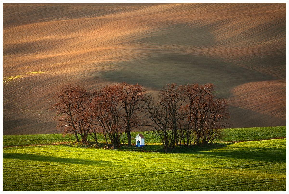 Strážovická kaplička - fotografický workshop Romanticky zvlněná Jižní Morava