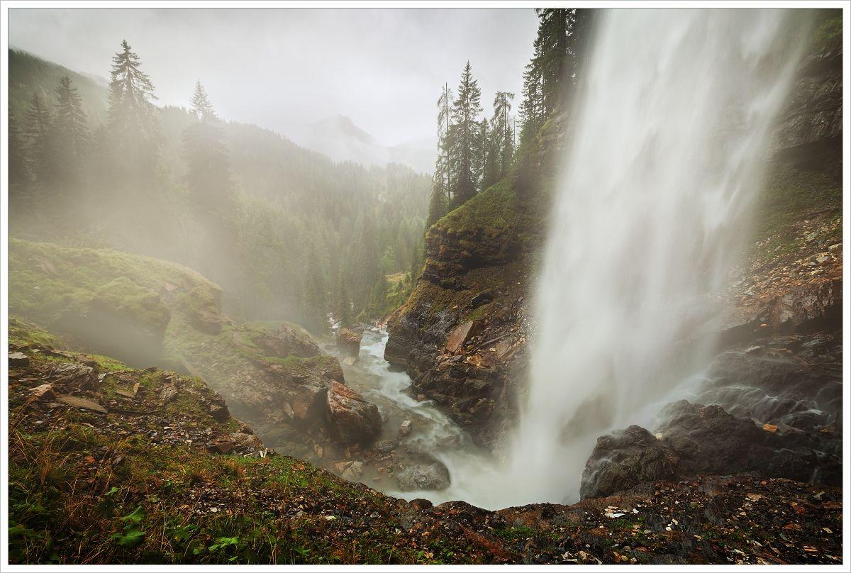 Vodopád Johanneswasserfall - fotografický workshop Jezera avodopády Rakouska