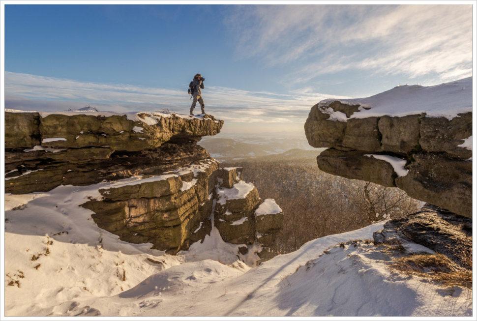 Fotograf nastolové hoře Děčínský Sněžník - fotografický workshop Labské pískovce aKrušné hory