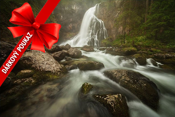 Dárkový poukaz nafotografický workshop Jezera avodopády Rakouska