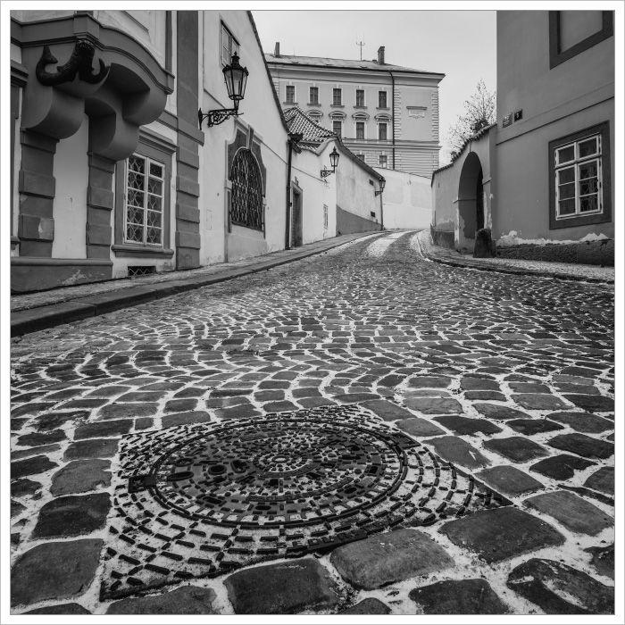 Uličky včásti Nový Svět - Fotografický workshop Magická zimní Praha
