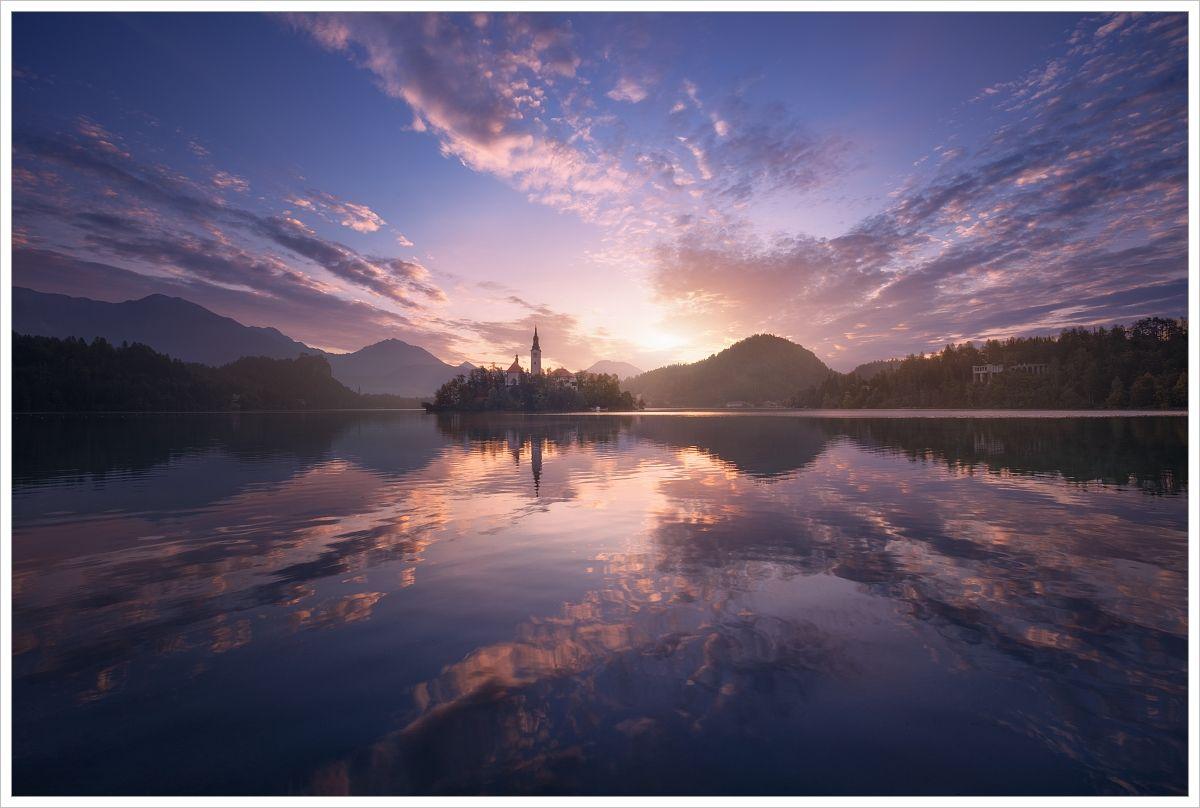 Ráno ujezera Bled - fotografický workshop Pohádkové podzimní Slovinsko